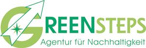 Logo Greensteps Agentur für Nachhaltigkeit